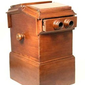 Antique Stereoscope Stereo Viewer ALEX BECKERS