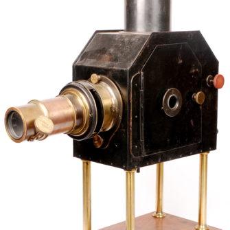 Rare lanterne de projection, Jules Duboscq