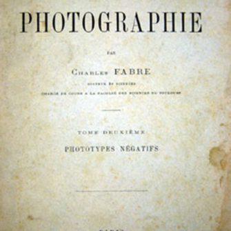 Traité encyclopédique de photographie par Charles Fabre