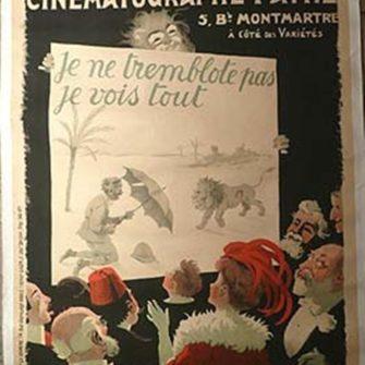 Affiche publicitaire d'époque