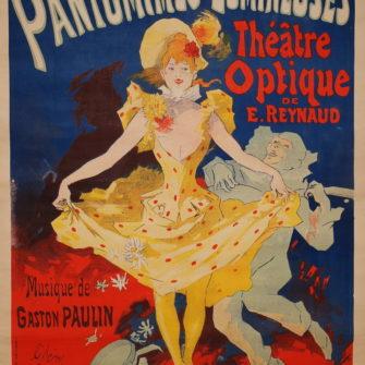 Affiche – Pantomimes Lumineuses / Jules Chéret.
