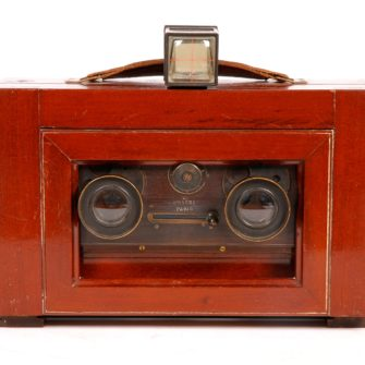 Wooden Stereo Plate Camera