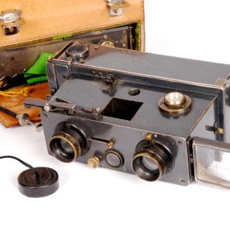 Vérascope  Jules Richard  complet dans  sa valise (1915)