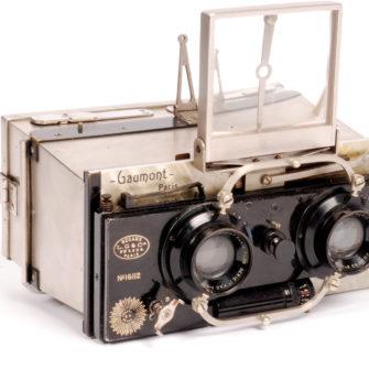 Tropical Gaumont Spido Stereo Camera