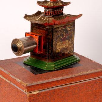 Lanterne magique «La pagode»
