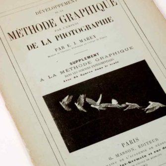 Marey, Développement de la Méthode graphique par l'emploi de la Photographie.