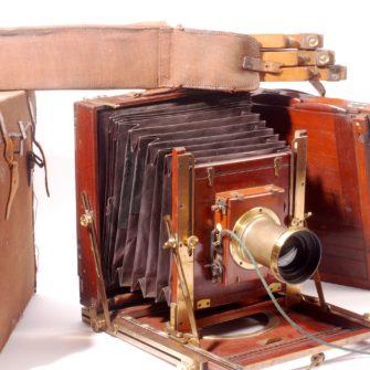 Puech wooden field camera