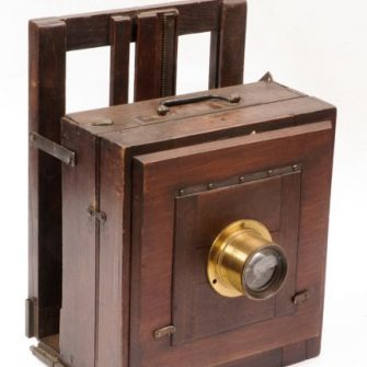 Wet Plate or Collodion era Camera