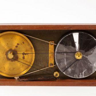 Wheel of Life magic lantern slide, British, 1870s.