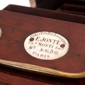 Chambre photographique «Jonte»
