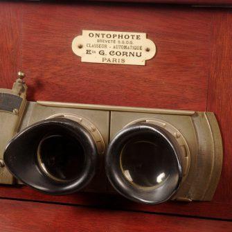 Visionneuse stéréoscopique Ontoscope 6X13 cm