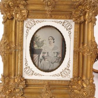 Daguerréotype signé Derussy.