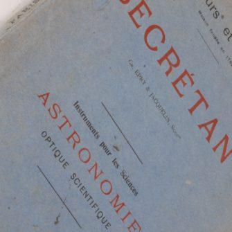Catalogue Lerebours et Secrétan de 1915