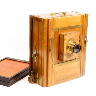 Chambre photographique de voyage 24 x 30 cm