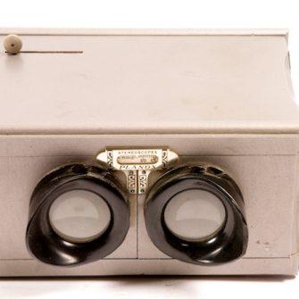 Visionneuse stéréoscopique Planox 6×13 cm.