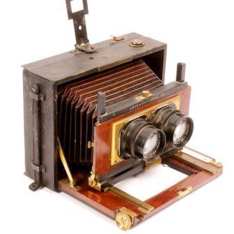 Mackenstein Stereo Plate Camera