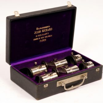 Boxed Set of Lenses for Jules Richard Taxiphote.