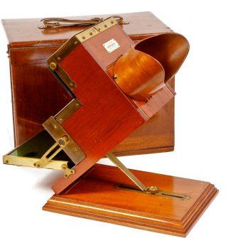 Kromskop de Frederic Eugène Ives, Usa. (Photochromoscope)