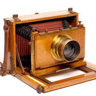 Chambre photographique à abattant