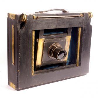 Chambre photographique à abattant 30 X 40 cm