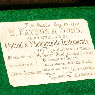 Chambre anglaise Watson & Sons