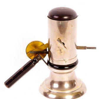 Clockwork Magnesium Ribbon Lamp