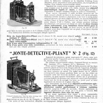 JONTE DELOYE Successeur Catalogue 1902