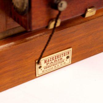 MACKENSTEIN Chambre de voyage 9×12