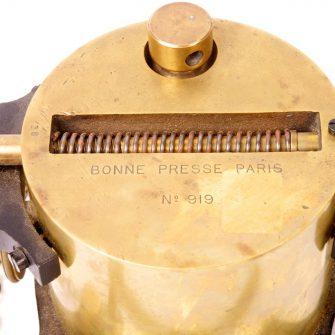 Saturateur oxy-éthérique LA BONNE PRESSE, Paris