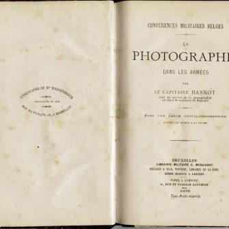 La photographie dans les armées