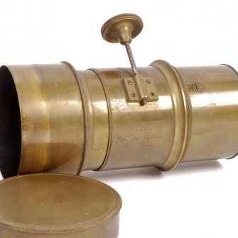 Objectif DURAND époque collodion humide