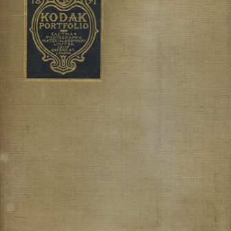 KODAK Portfolio, Souvenir of the Eastman Photographic Exhibition 1897, a collection of Kodak Film Pictures by Eminent Photographers published by the Eastman Photographic Materials Co, Ltd.