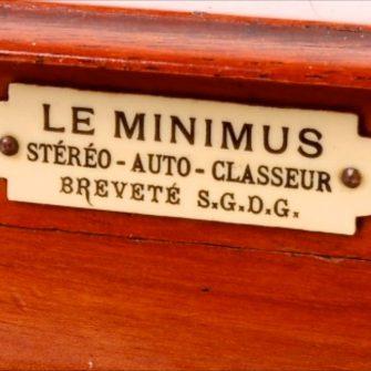 «LE MINIMUS» de Lucien BIZE