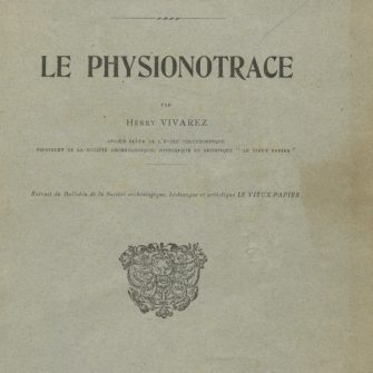 Henry Vivarez, Le Physionotrace