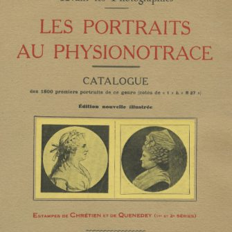 René Hennequin, Les portraits au physionotrace