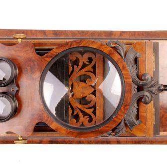 Grand Stéréo-graphoscope Napoléon III. 57 cm de long.