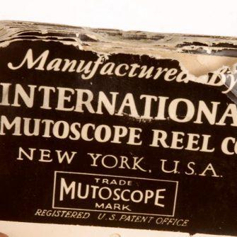 The International Mutoscope Reel Co. original Mutoscope
