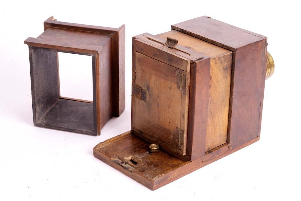 Sliding Box Camera Désiré Lebrun Rare Antiq Photo