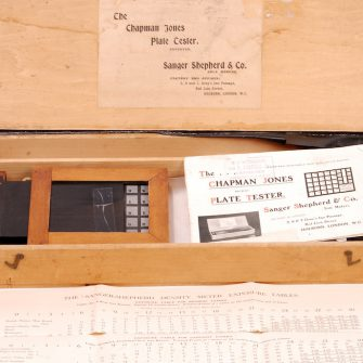 The Chapman Jones Plate Tester