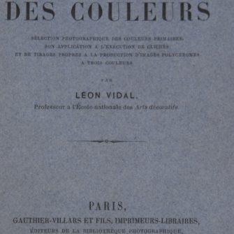 VIDAL (Léon),