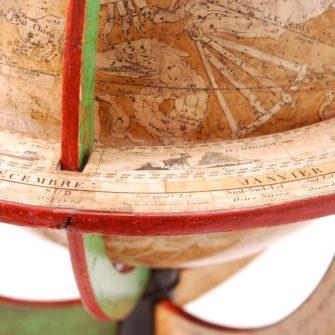 Globe céleste de Frémin par Bastien l'aîné, 1842