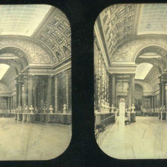 Eugène Disdéri. Daguerréotype stéréoscopique.