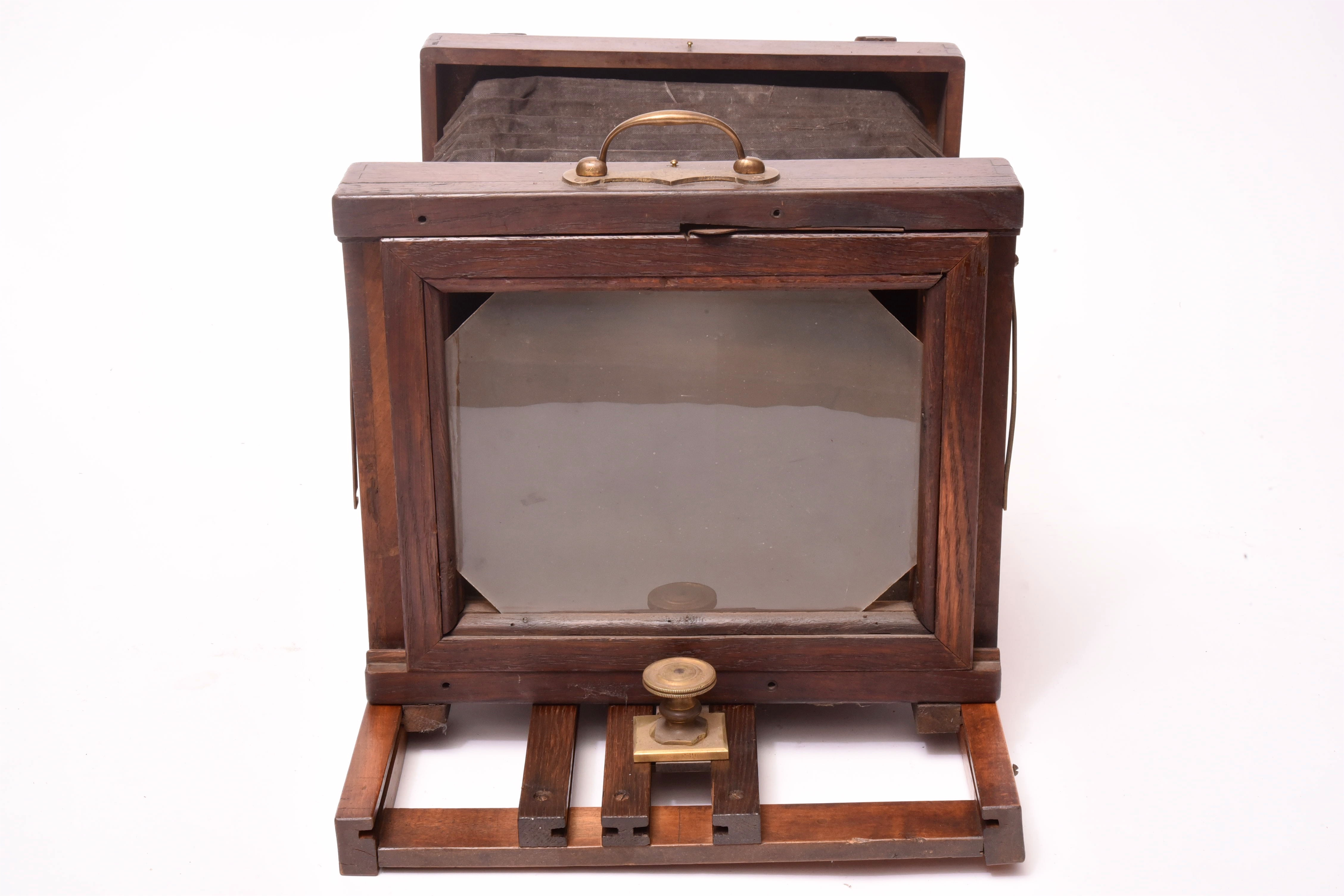 A Boutrais Chambre Photographique Poque Collodion Antiq Photo