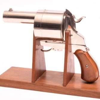Le Photo-Revolver de Poche d'Enjalbert – Replica