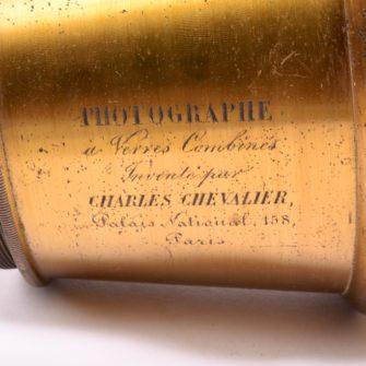 Photographe à verres combinés Charles Chevalier