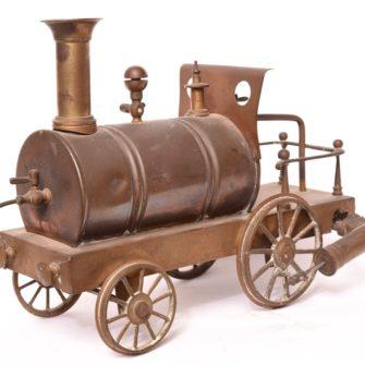 Jouet Radiguet Machine à vapeur