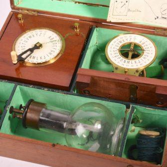 Télégraphe jouet modèle Bréguet