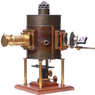 Newton Triple rotating electric lantern