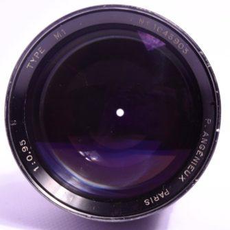Objectif Angénieux  0,95 – 50mm
