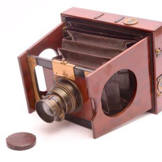 Chambre photographique à joues 13×18 Mackenstein